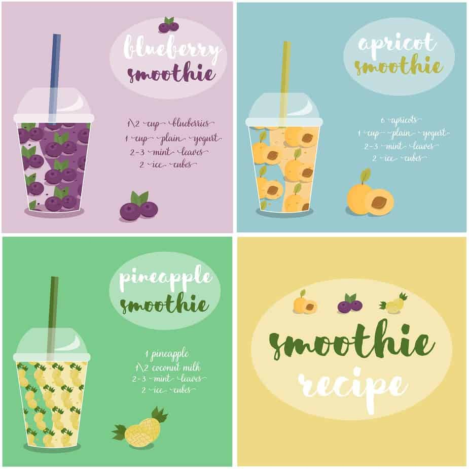 How to make a smoothie - Apricot, Blueberry and Pineapple Smoothie Recipe