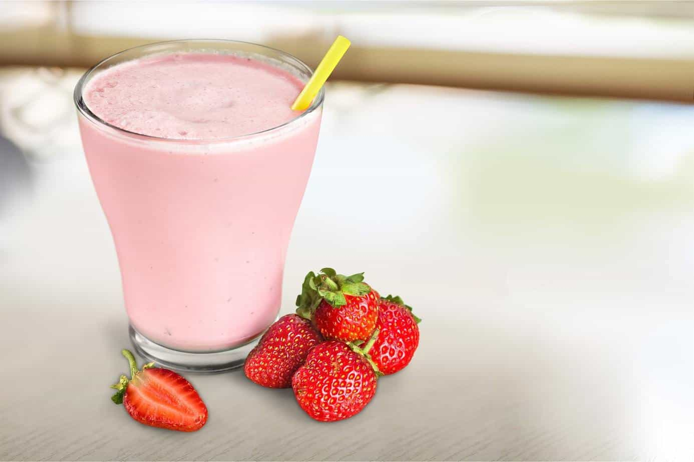 Milkshake Strawberry Swirl