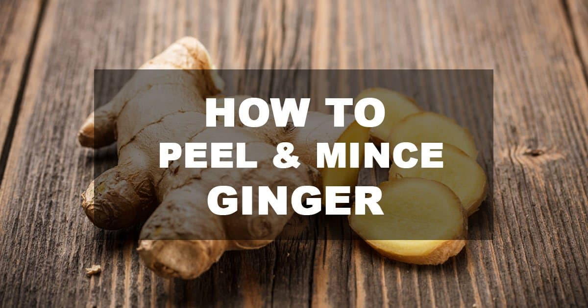 How to Mince Ginger