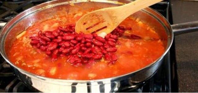 How to thicken chili - Natural Reduction