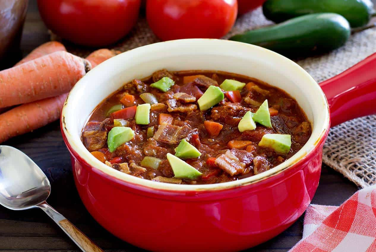 Paleo Crock Pot Chili