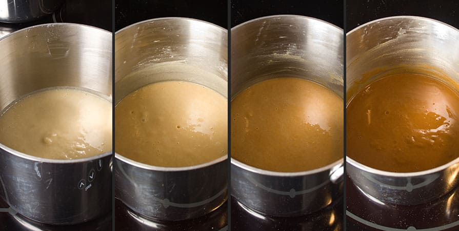 Different types of roux