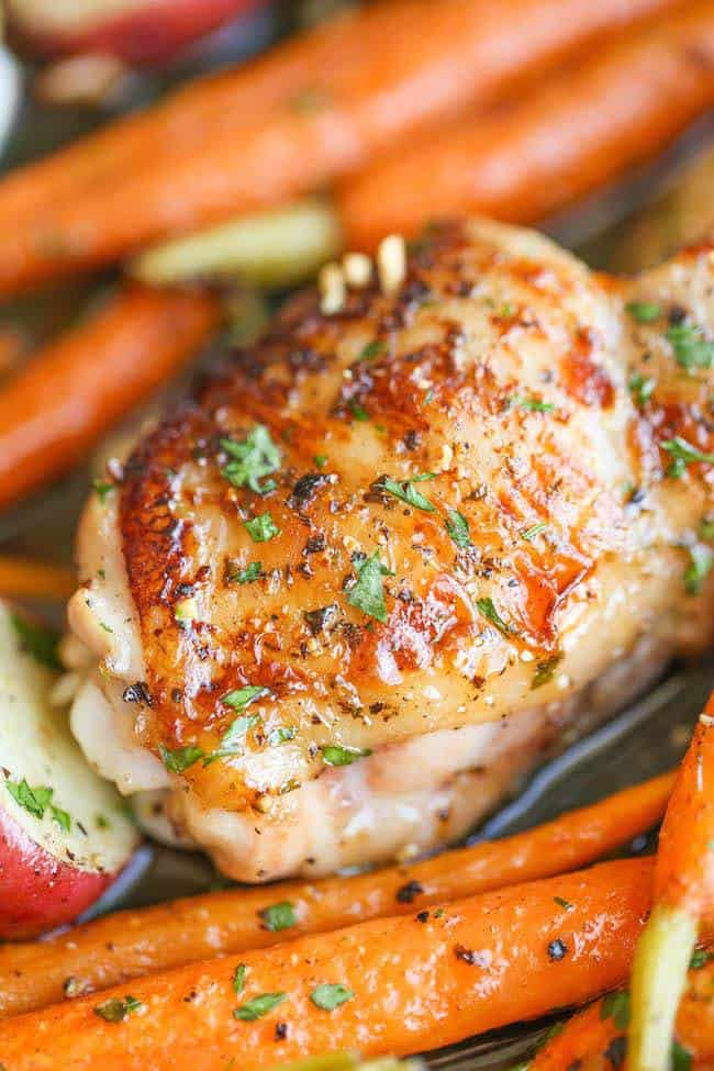 One Pan Garlic Ranch Chicken - Photo from damndelicious.net