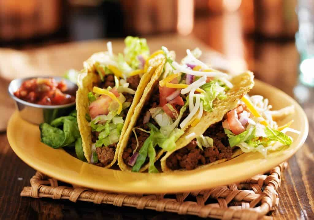beef mexican tacos
