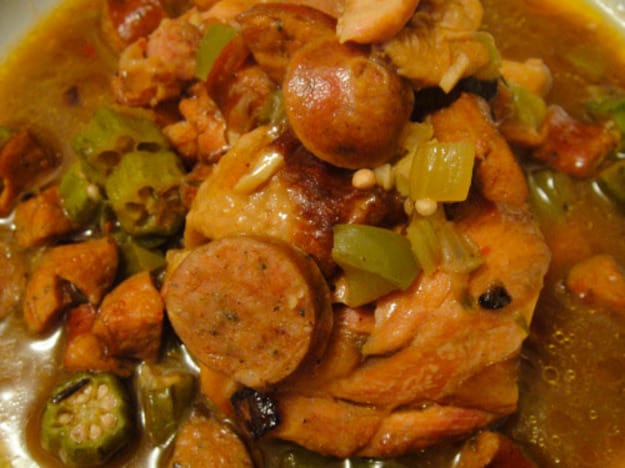 Chicken and Smoked Sausage Gumbo