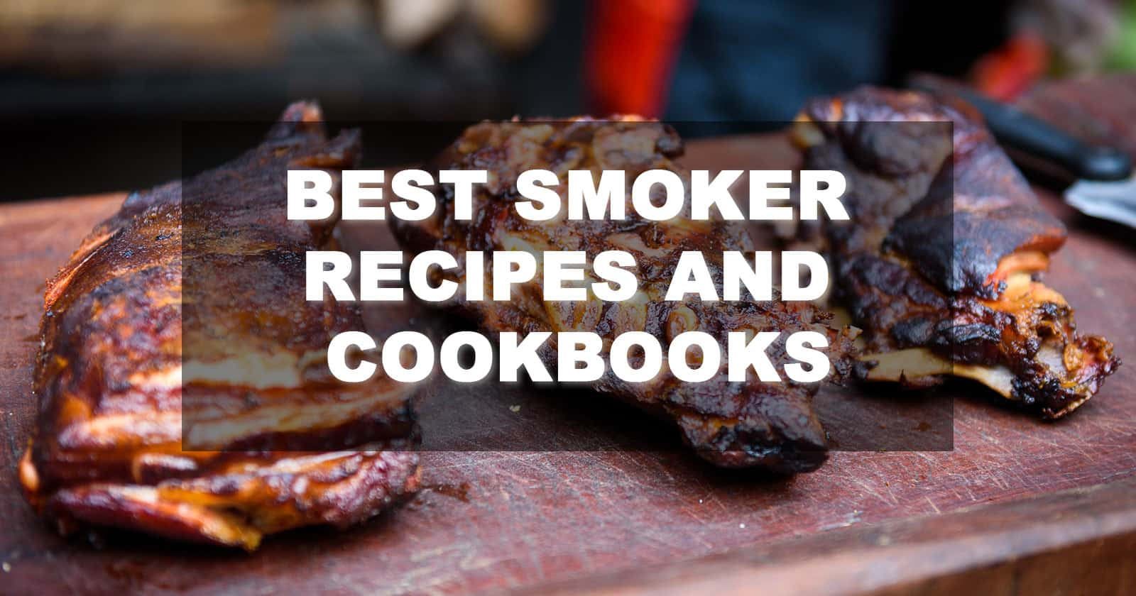 Best Smoker Cookbooks Recipes