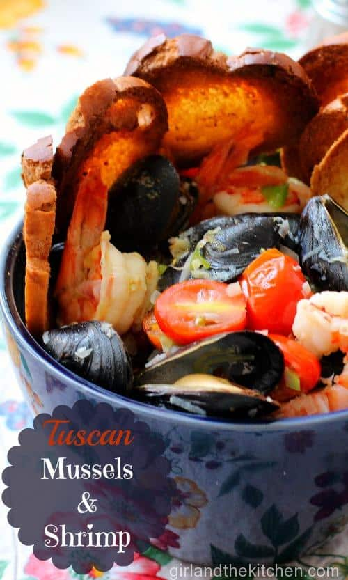 Tuscan Mussels And Shrimps