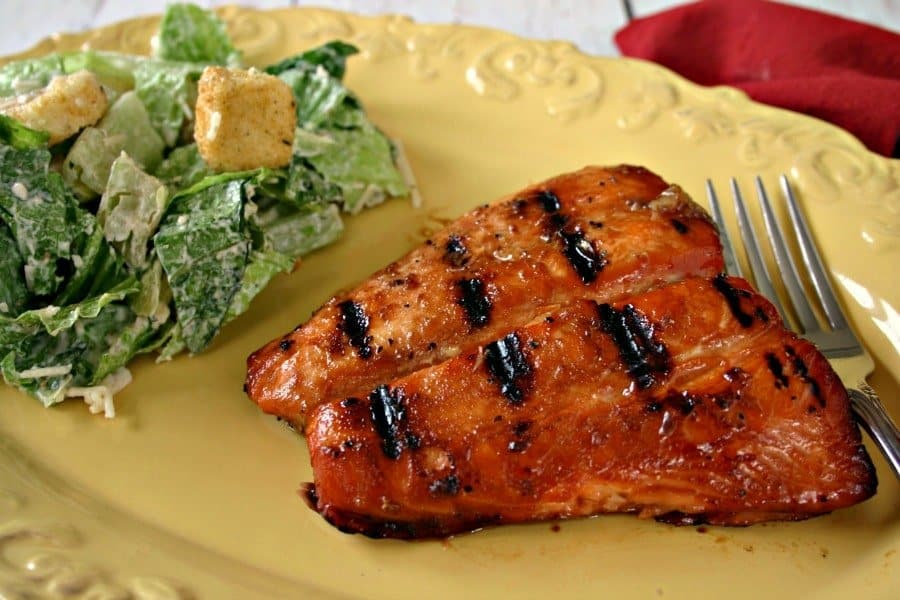 Foil-Grilled Salmon