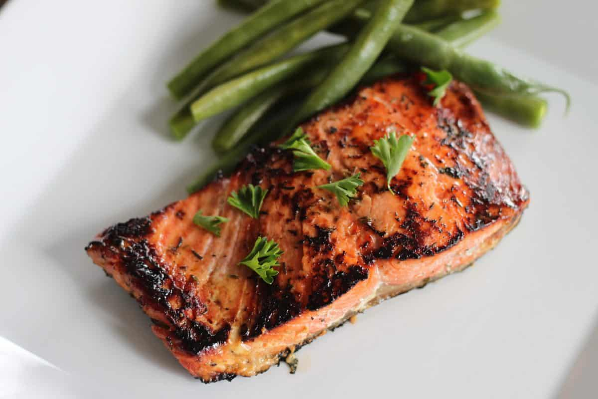 Honey Grilled Salmon