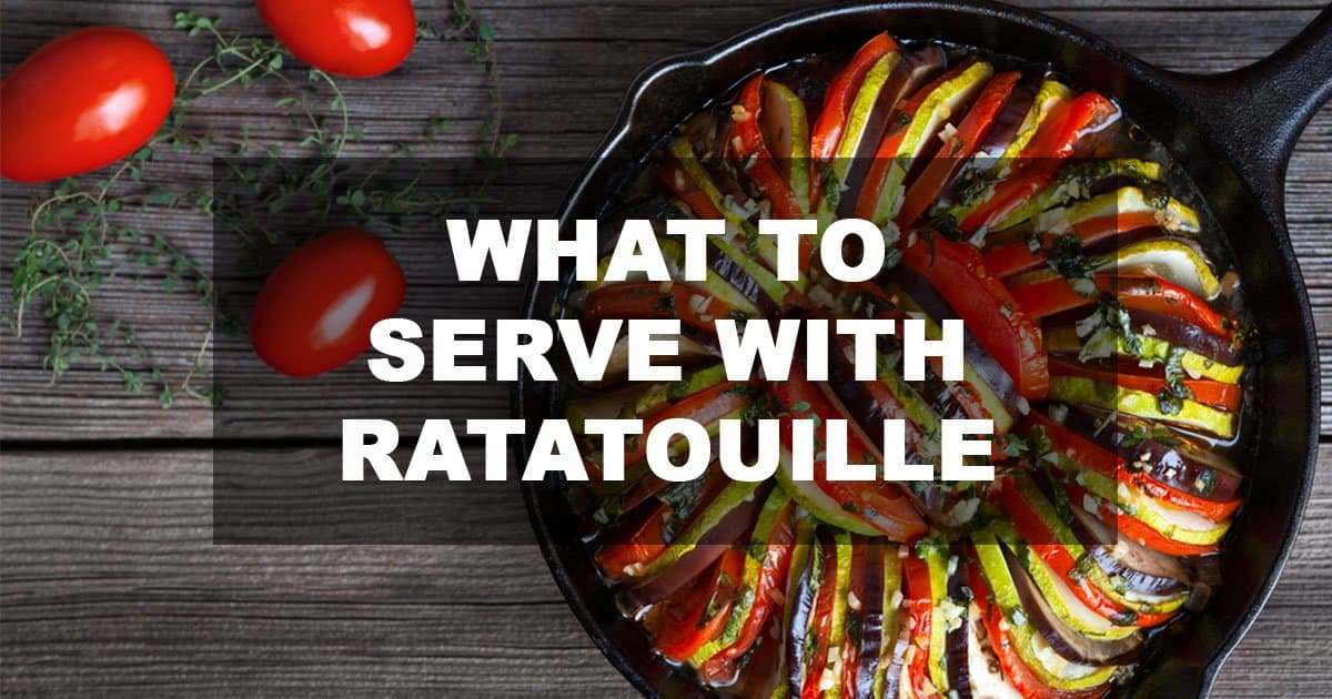what to serve with ratatouille