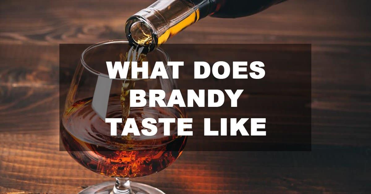 what does brandy taste like