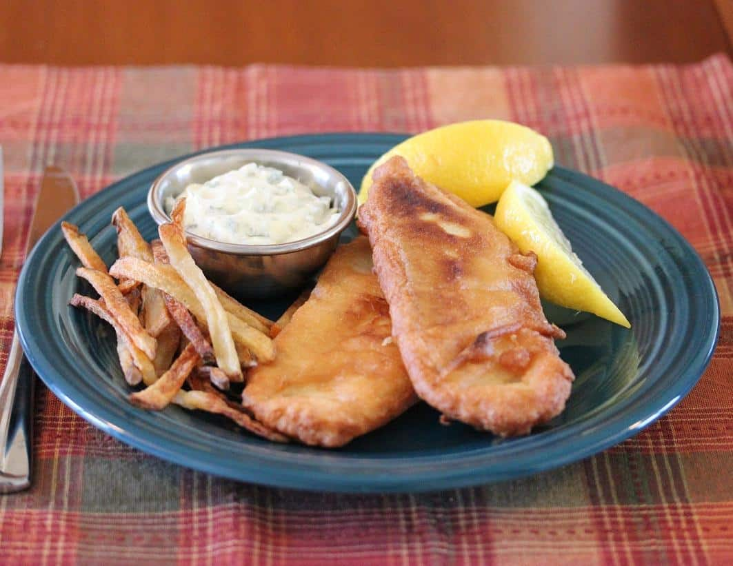 Beer Battered Tilapia