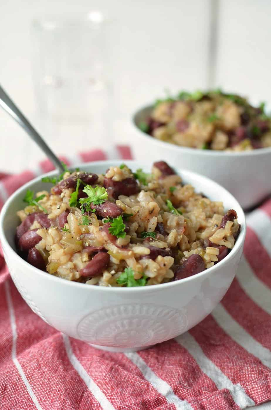 Vegan Red Rice And Beans