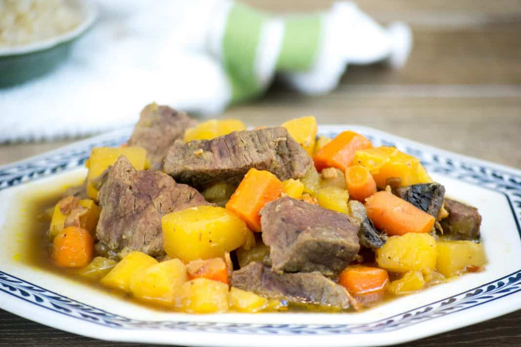 Beef, Bacon, and Rum Stew Recipe