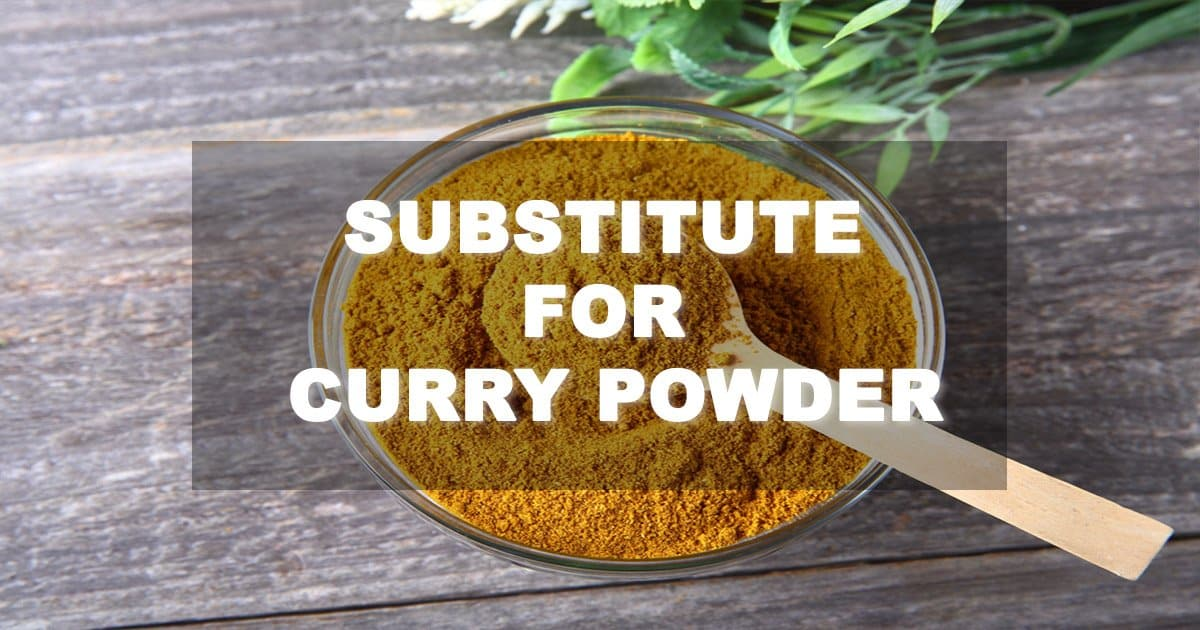 substitute for curry powder